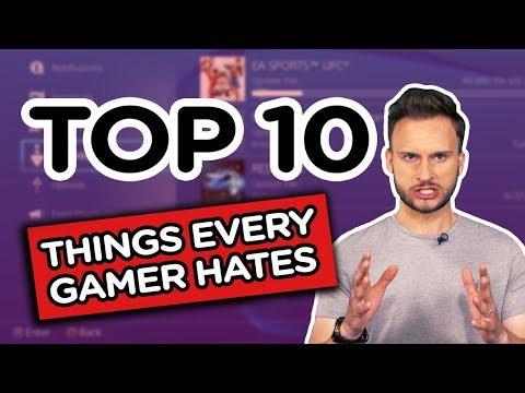 Top 10 Things Every Gamer HATES   TOP 10 - GINX Esports TV