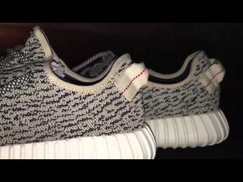 HOW TO TELL REAL VS FAKE YEEZY 350 BOOST!
