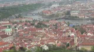 Прага. С высоты птичьего полета
