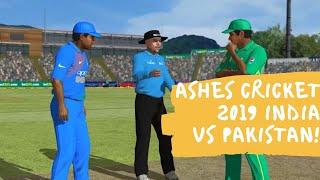 Ashes cricket 2019 india vs pakistan!Cricket 19 Gameplay!#IndiaVSPak #WC2019 #MatchHighlights
