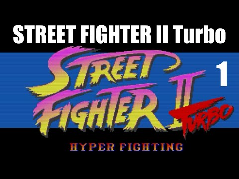 [1/4] Ryu Playthrough - STREET FIGHTER II Turbo(SNES)