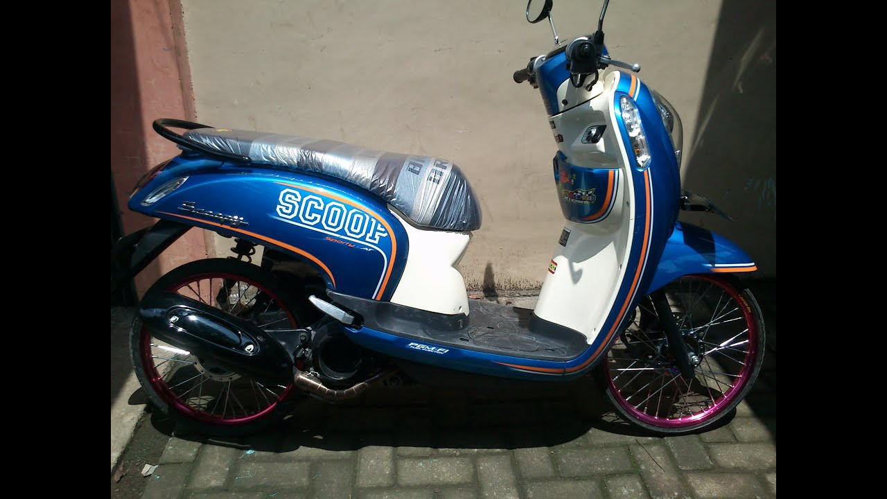 80 Modifikasi Thailook Scoopy Fi Kumpulan Modifikasi Motor Scoopy