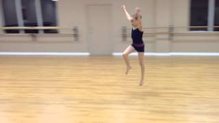 Aerial on the floor learned it in a couple months Strictly Dance