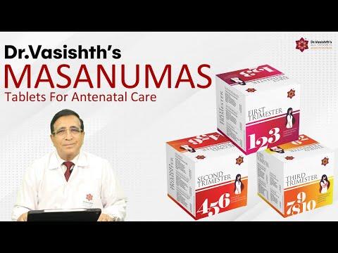 Dr.Vasishth's: Masanumas Tablets for Pregnant Women