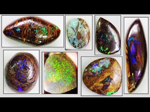 BOULDER OPALS - How to Find and Identify | Liz Kreate