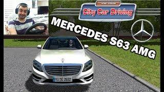 MERCEDES S63 AMG  /Test Drive/ City Car Driving #8