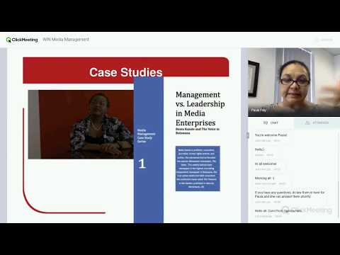 [Women in News] Media Management Module Intro