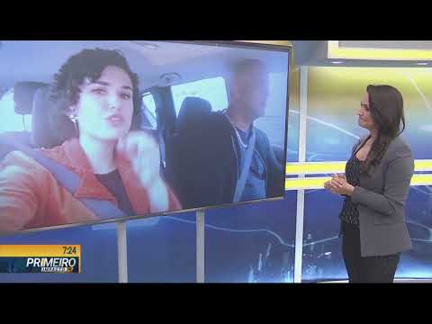 Cobertura ao vivo de atropelamento - Primeiro Impacto PR (06/02/19)