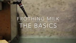 Frothing milk - The basics (with the DeLonghi Dedica espresso machine)