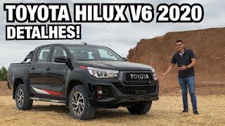 TOYOTA HILUX V6 2020 em DETALHES - Falando de Carro