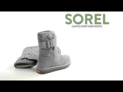 Sorel The Campus Boots - Suede-Felt (For Women)