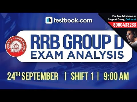 RRB Group D 2018 Exam Analysis | 24th September Shift 1 | Exam Review + Questions Asked