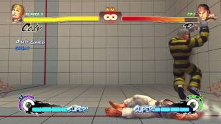 Cody Ultra Street Fighter Iv Crack Kick Corpse Hop