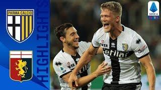 Parma 5-1 Genoa | Cornelius nets a Hat-trick as Parma Thump Genoa | Serie A