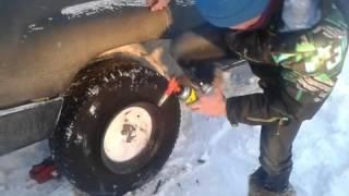 видео Установка шин с выездом на место