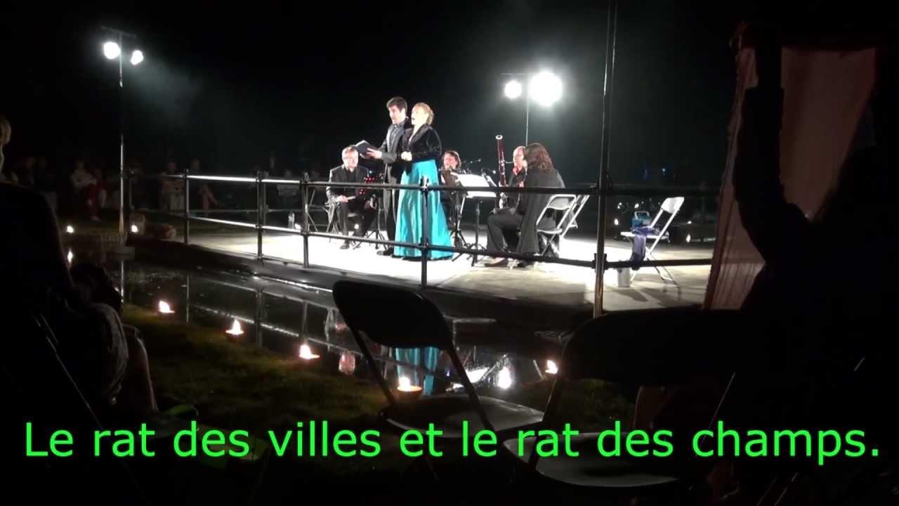 ensemble quartz nuit musicale de seneffe 2012 le rat des villes et le rat des champs youtube. Black Bedroom Furniture Sets. Home Design Ideas
