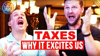 Real Estate Taxes - Huge Benefit of Real Estate Investing