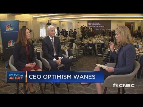 Jamie Dimon: CEOs optimistic about business outlook