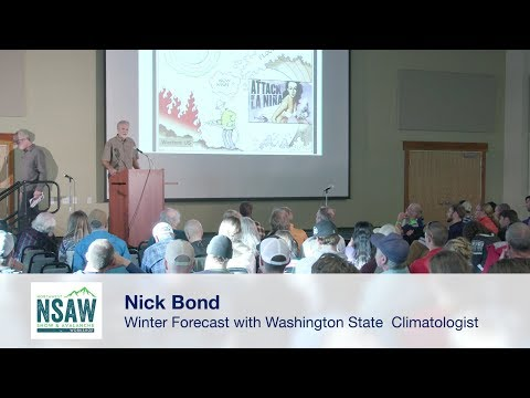 NSAW 2017 - Nick Bond:  Looking ahead to winter with the Washington State Climatologist