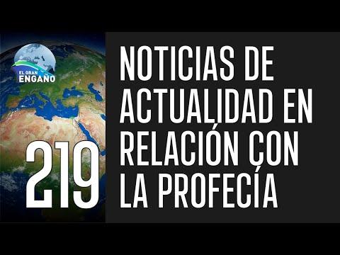 219a. Noticias de actualidad en relación con la profecía (Cipolletti, Argentina)