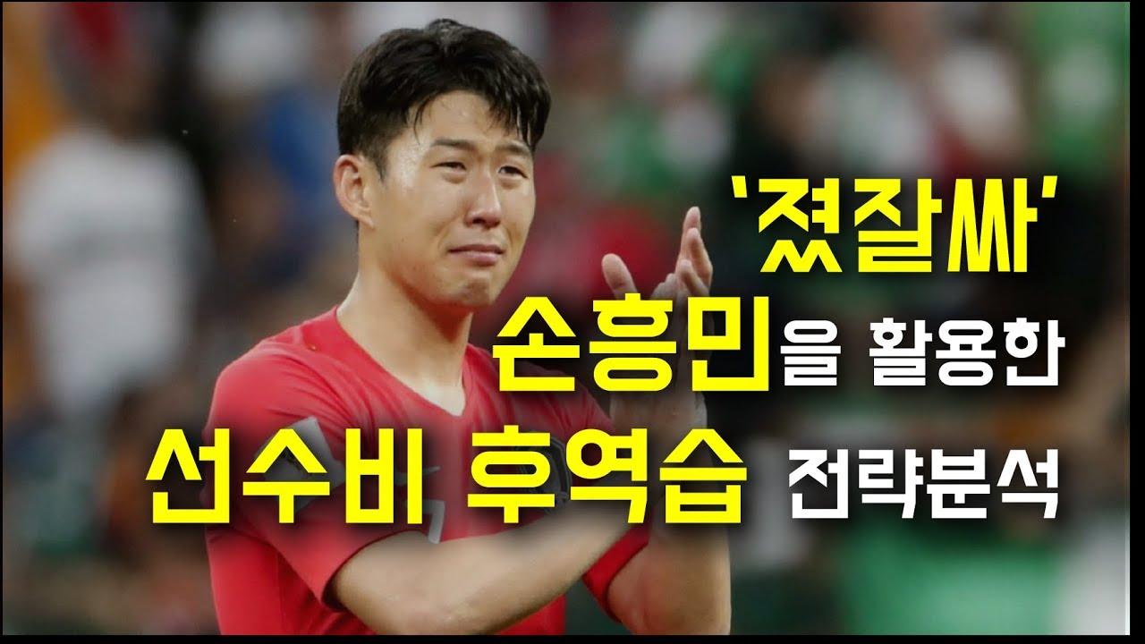 [전술분석] '졌잘싸' 손흥민을 활용한 한국의 '선수비 후역습' 전략분석