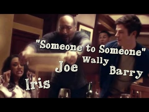 Joe West & his kids (Barry, Iris, Wally) -