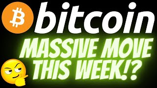 MASSIVE BITCOIN MOVE THIS WEEK!? Crypto BTC market price prediction, analysis, news, trading