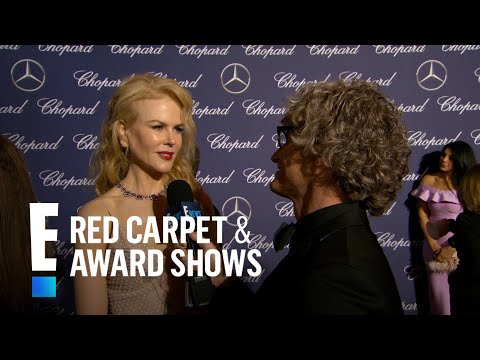 Nicole Kidman Gushes Over Singing With...