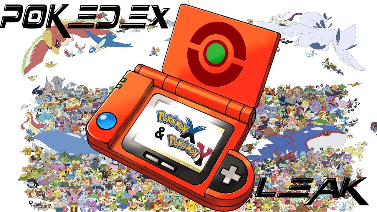 Pokemon X & Y Pokedex Leak? - YouTube