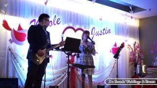 Lauren & Joseph KF - De Grands Wedding band (English songs) Melaka, Malaysia.