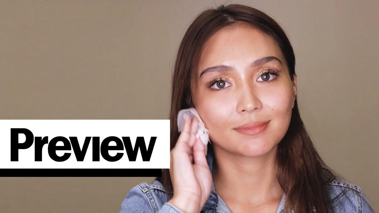 Kathryn Bernardo Removes Her Makeup | Barefaced Beauty ...