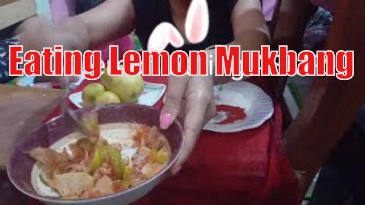 Lemon eating ASMR || lime eating