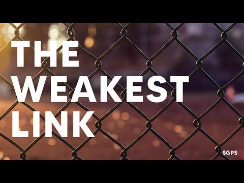 What is the WEAKEST Link Today? - $GPS Live