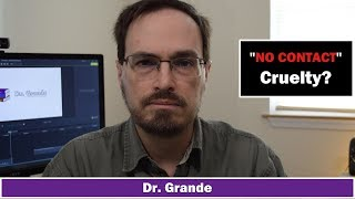 Narcissism & No Contact | Is avoiding relationships with narcissists cruel?