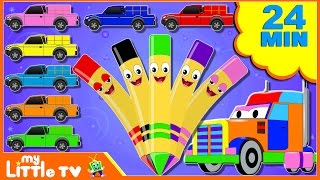 Colors for Children to Learn with Crayons | Colours for Kids | Learning Videos for Toddlers