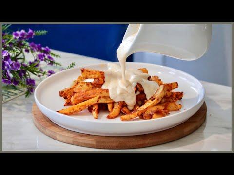 Cheesy Fries ???? | بطاطس بخلطة الجبن اللذيذة ????
