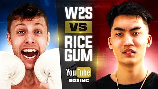 W2S vs Ricegum Official Fight Announcement
