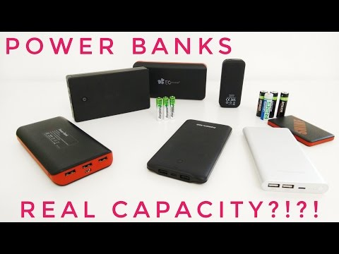 What's The Real Capacity Of Power Banks/ Portable Batteries?