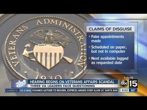 Hearing begins on VA scandal