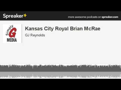 Kansas City Royal Brian McRae (made with Spreaker)
