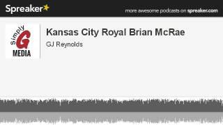 Kansas City Royal Brian McRae (made with Spreaker)