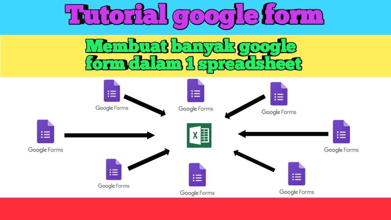 Cara Membuat Banyak Google Form Dalam Satu Spreadsheet Youtube