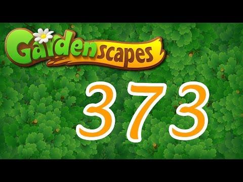 Gardenscapes Level 373 Walkthrough Youtube