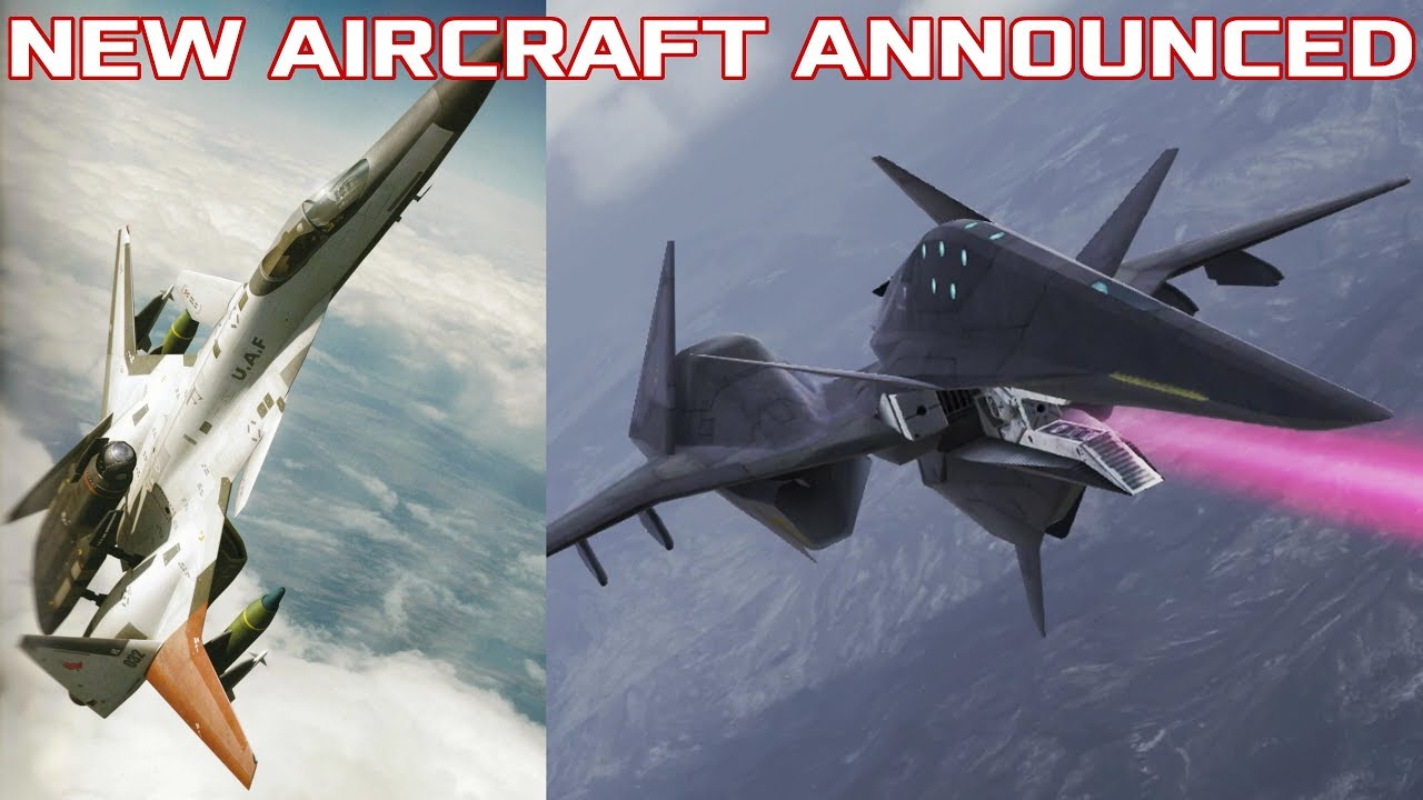 Ace Combat 7 DLC and Season Pass Update: Morgan & Falken Announced!