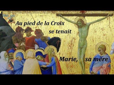 Au pied de la Croix se tenait Marie, sa mère – Conf. Mme HARTER Marie-Marguerite