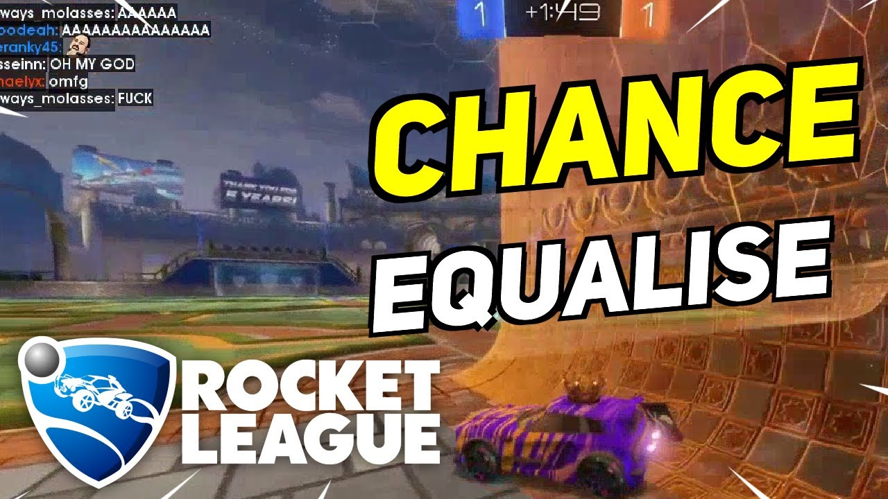 Daily Rocket League Moments: ONE CHANCE TO EQUALISE...