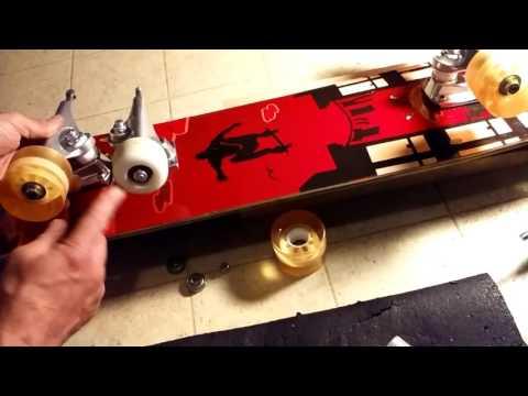 """""""Longer Wheelbase"""" Cruiser Board Skateboard Customize Mod Setup with Krux Trucks"""