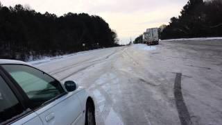 Morning after 2014 Georgia Snowstorm