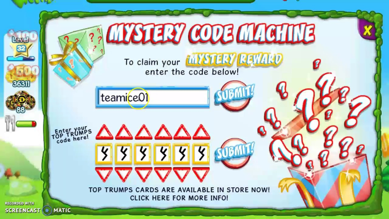binweevils codes for