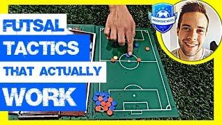 NEW* Futsal Tactics - Defending & Attacking (Strategies for Futsal Success)